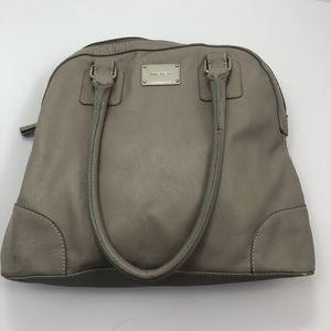 Nine West Grey Hobo Purse Bag Handbag